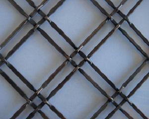 Decorative Bronze Wire Mesh Cabinet Inserts